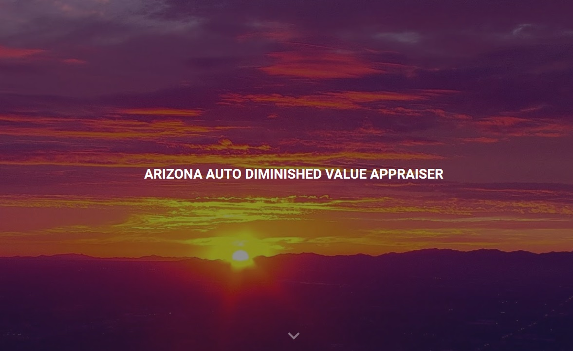 Arizona Auto Diminished Value Appraisal 772-359-4300