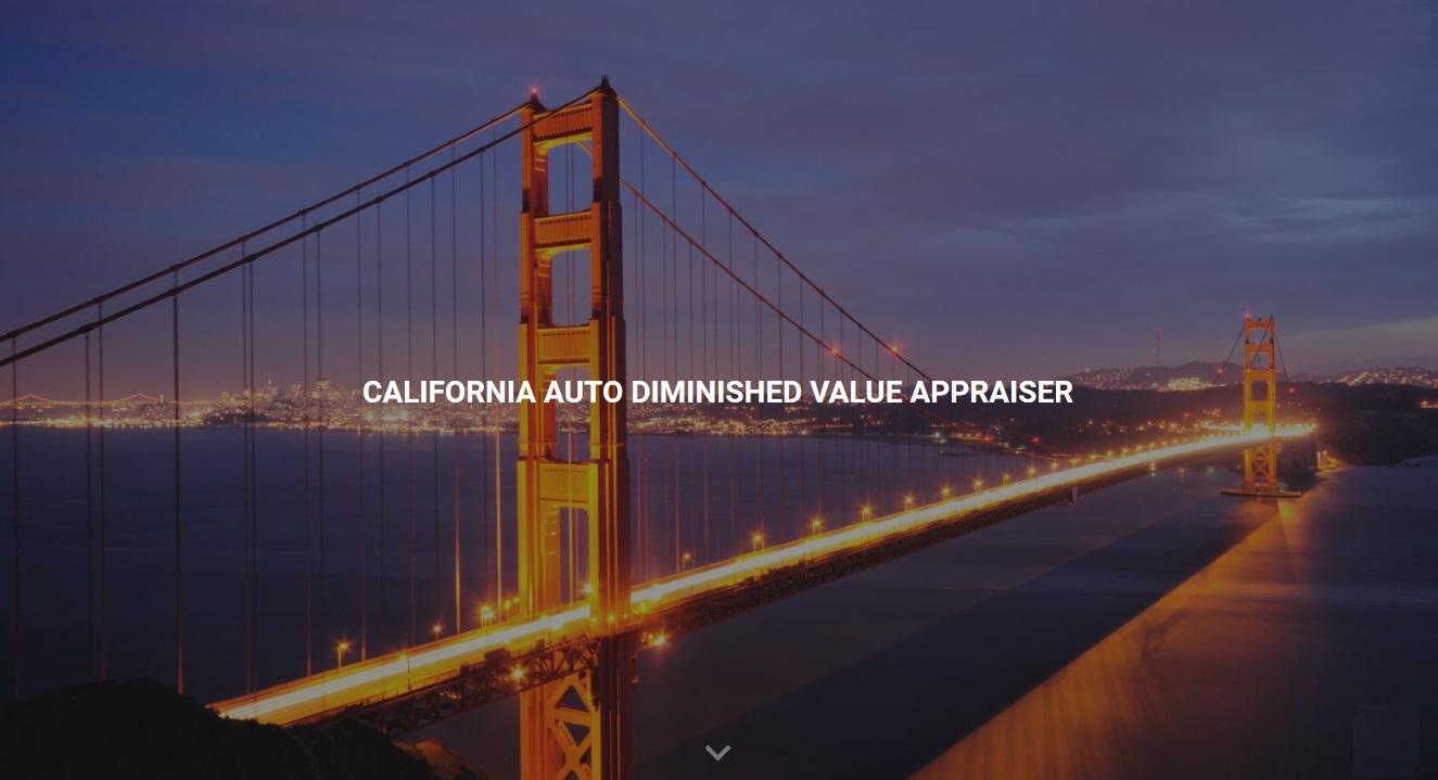 california auto diminished value appraisal 772-359-4300