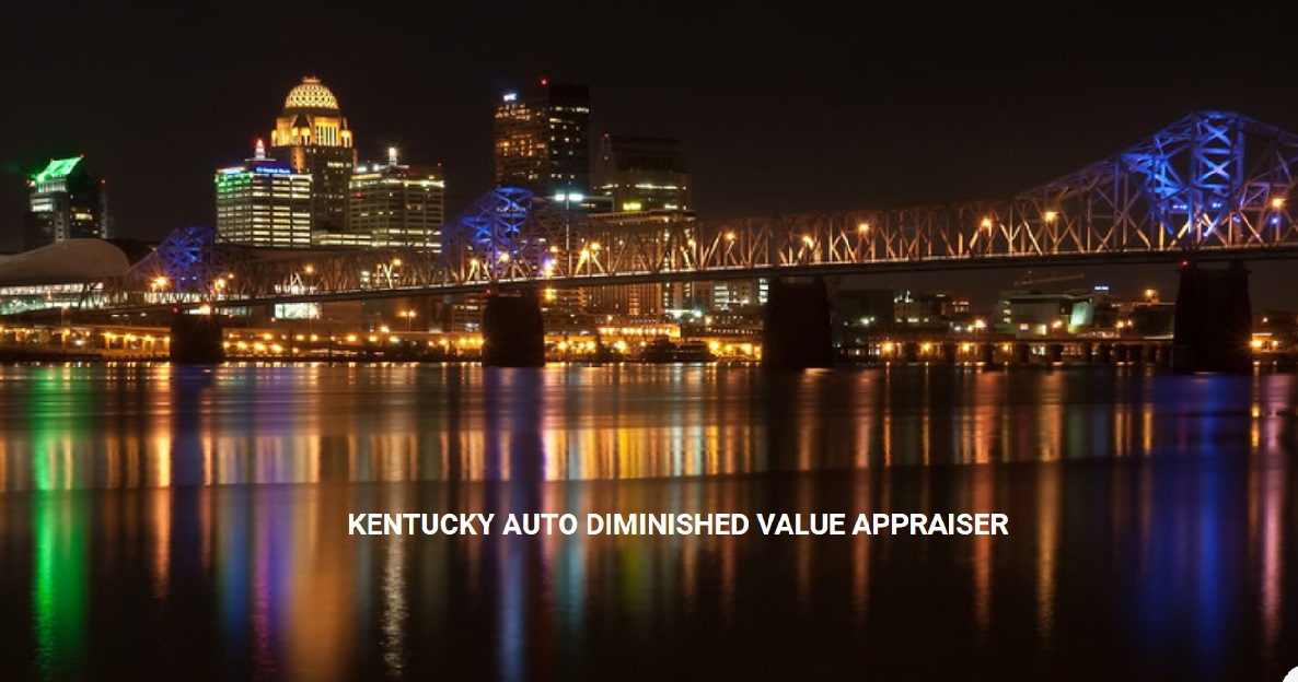 Kentucky Auto Diminished Value Appraisal 772-359-4300