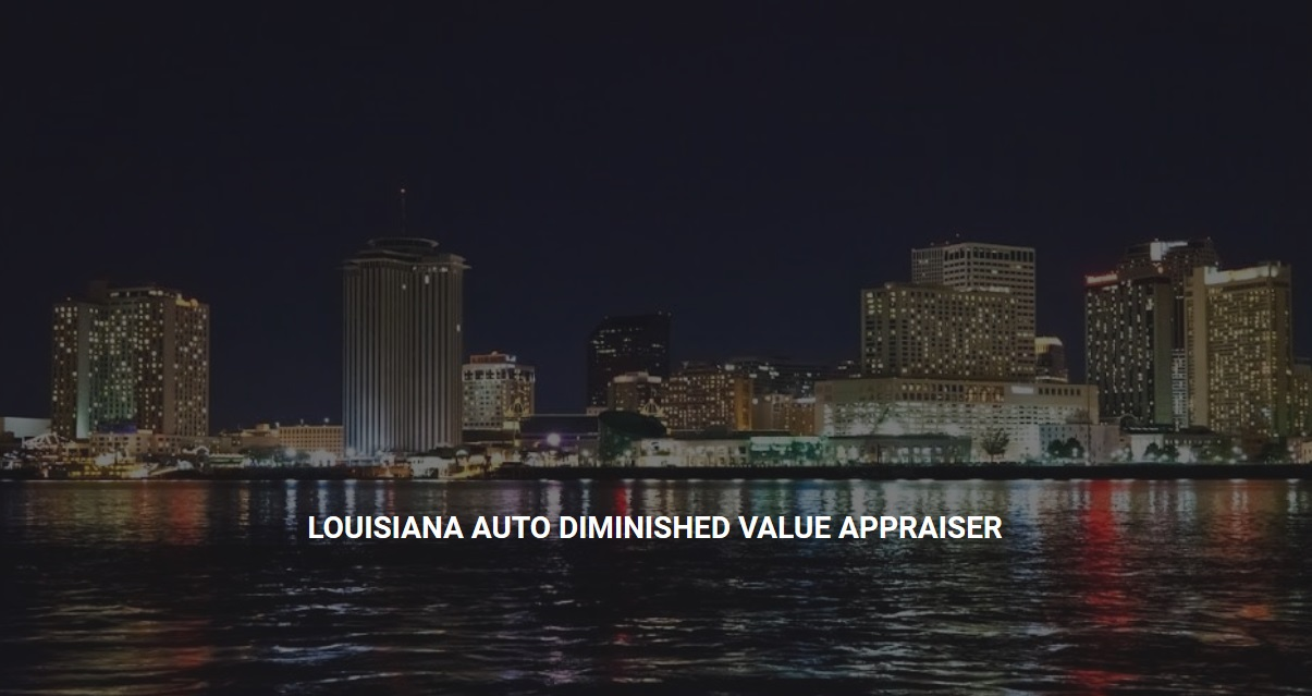 Louisiana Diminished Value Appraisal 772-359-4300
