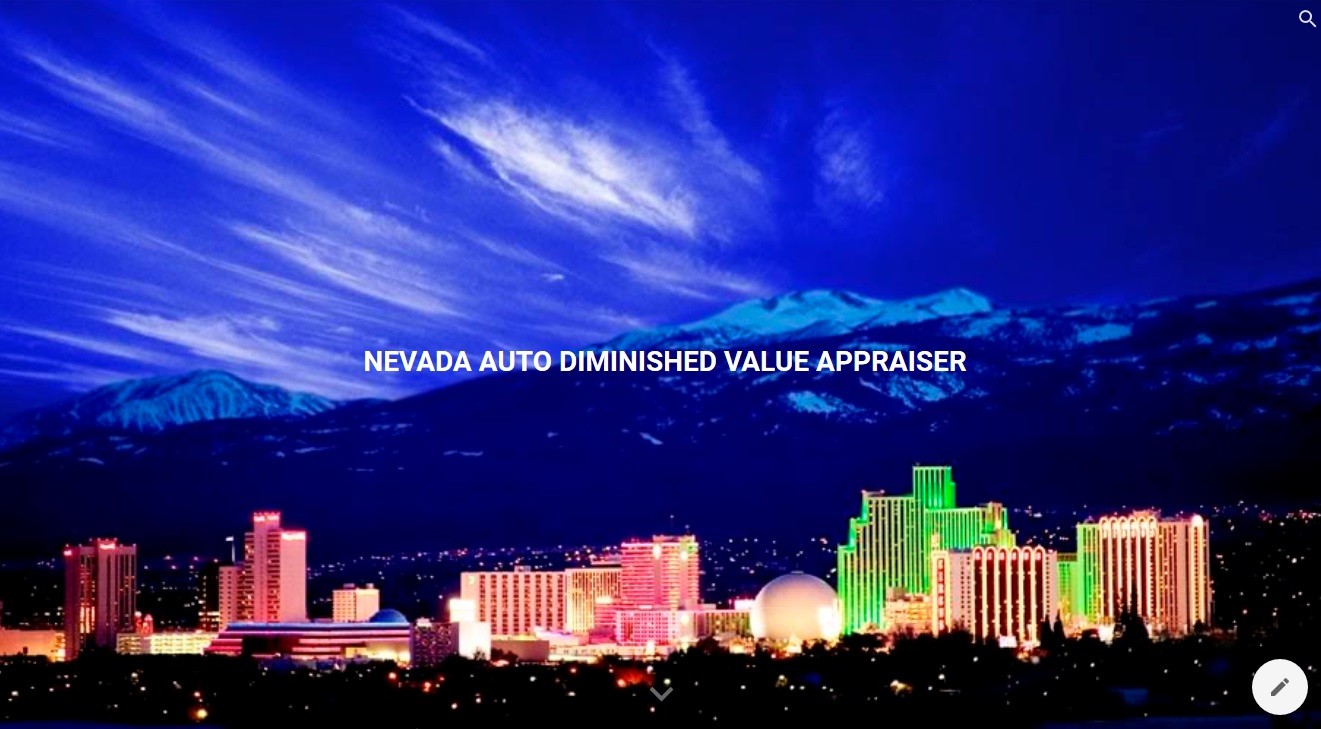 Nevada Auto Diminished Value Appraisal 772-359-4300