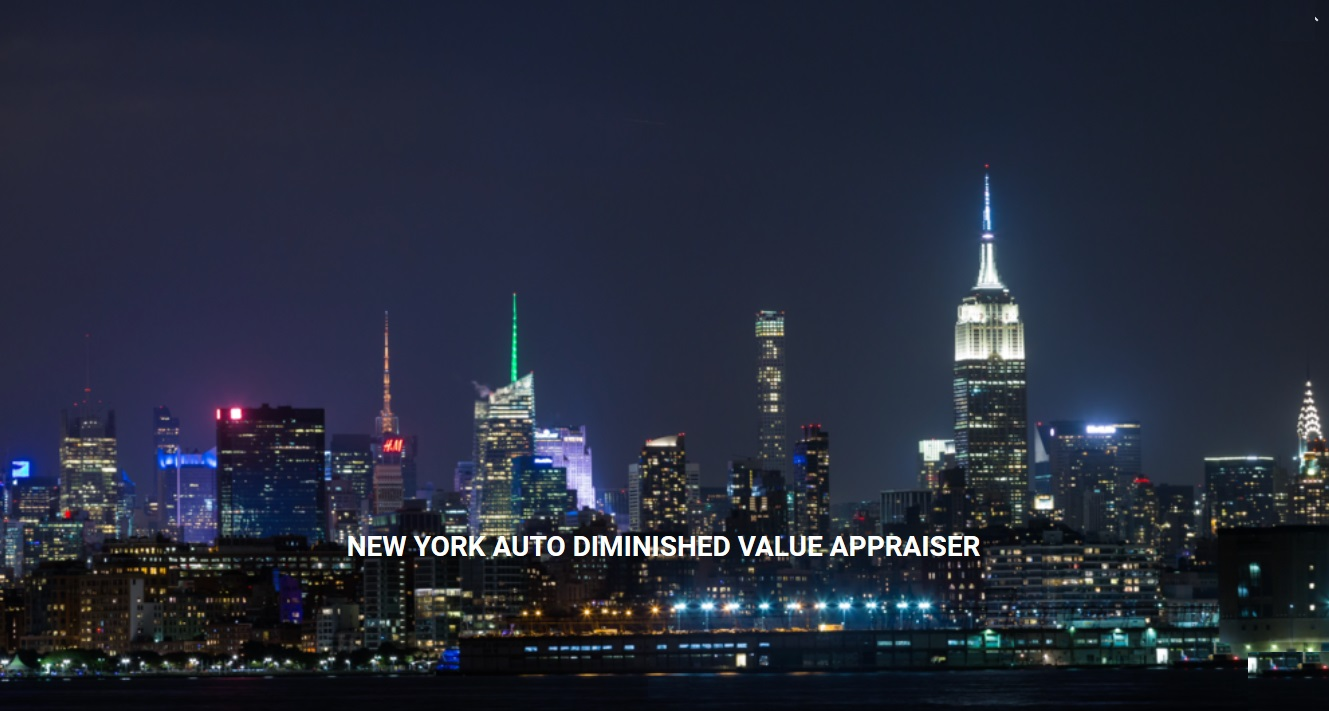 New York Auto Diminished Value Appraisal 772-359-4300