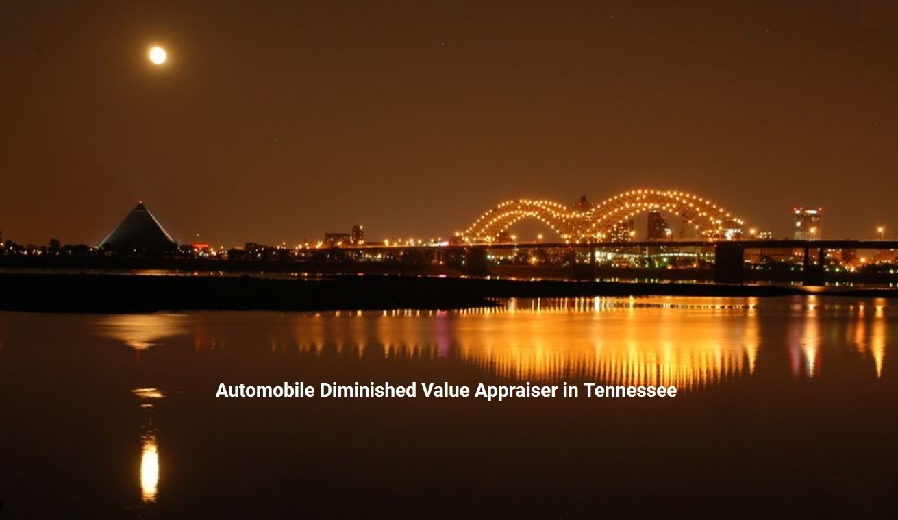 Tennessee Auto Diminished Value Appraiser 772-359-4300