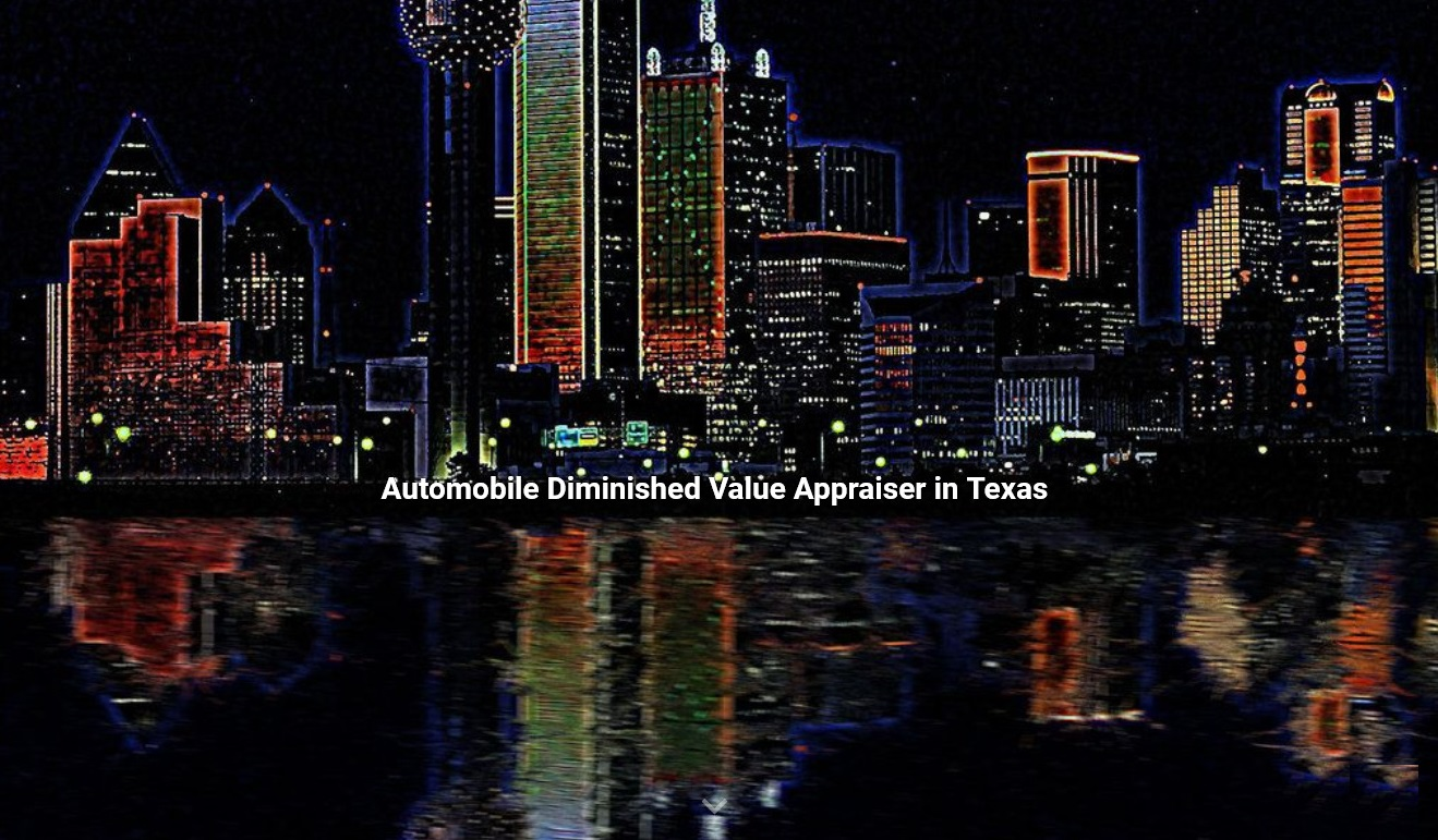 Texas auto diminished value appraisal 772-359-4300