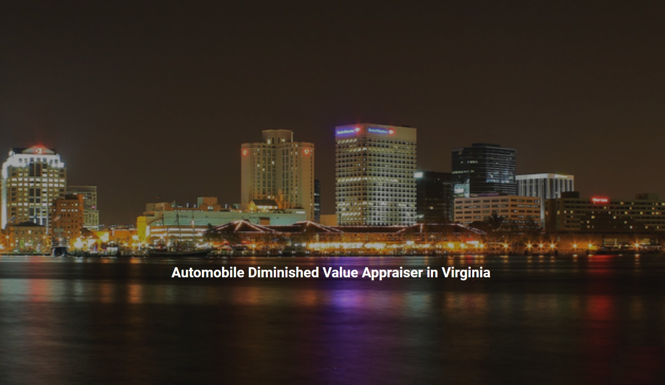 Virginia Auto Diminished Value Appraisal 772-359-4300